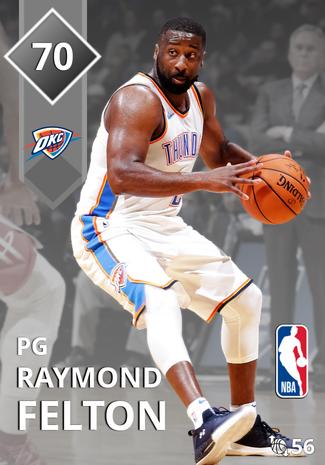 Raymond Felton silver card