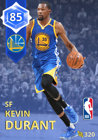 Kevin Durant sapphire card