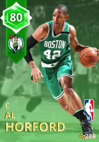 Al Horford emerald card