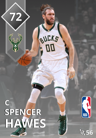 Spencer Hawes silver card