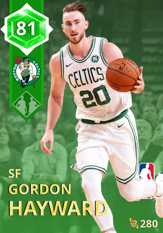 Gordon Hayward emerald card