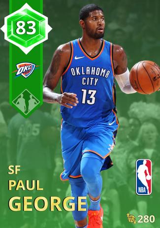 Paul George emerald card