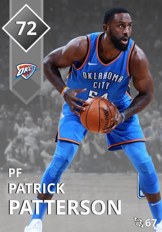 Patrick Patterson silver card