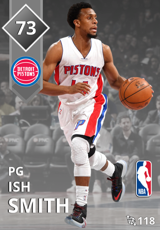 Ish Smith silver card