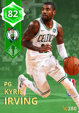 Kyrie Irving emerald card
