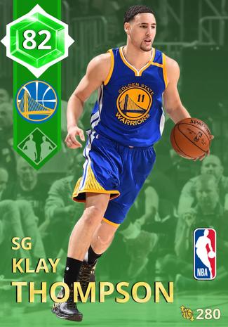 Klay Thompson emerald card