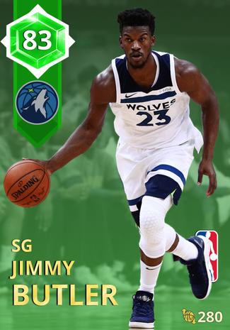 Jimmy Butler emerald card