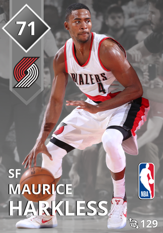 Maurice Harkless silver card