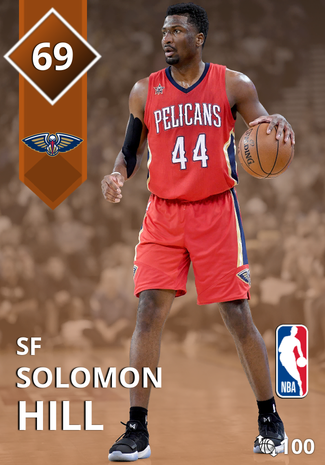 Solomon Hill bronze card