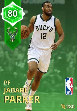 Jabari Parker emerald card