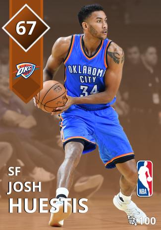 Josh Huestis bronze card