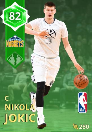Nikola Jokic emerald card