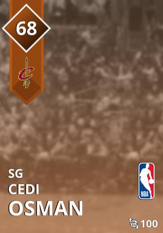 Cedi Osman bronze card