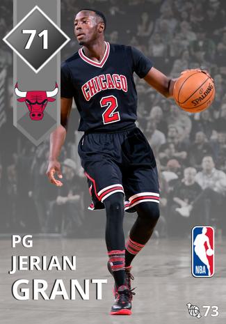 Jerian Grant silver card