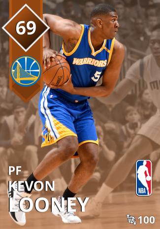 Kevon Looney bronze card