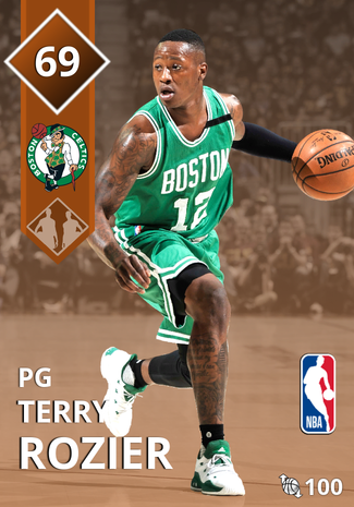 Terry Rozier bronze card