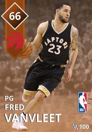 Fred VanVleet bronze card