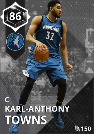'21 Karl-Anthony Towns onyx card