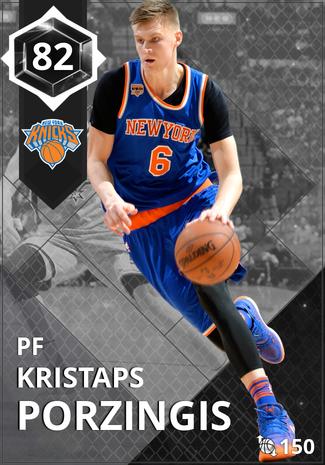 '21 Kristaps Porzingis onyx card