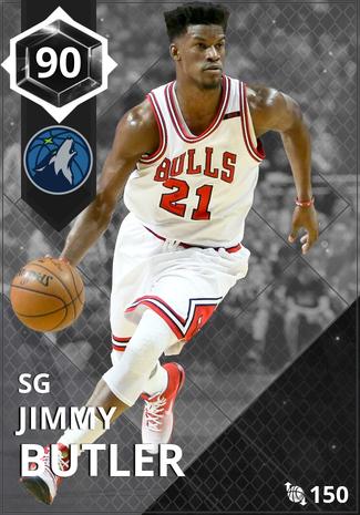 '21 Jimmy Butler onyx card