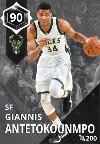'21 Giannis Antetokounmpo onyx card