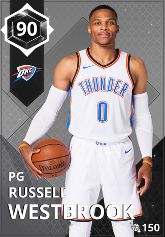 '21 Russell Westbrook onyx card