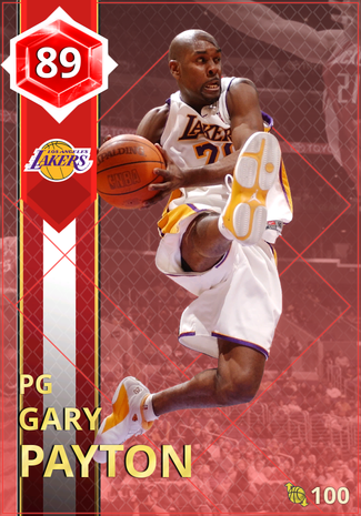 '08 Gary Payton ruby card