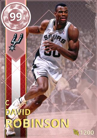 '94 David Robinson pinkdiamond card