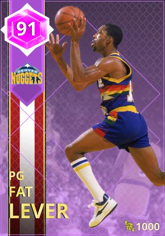 '92 Fat Lever amethyst card