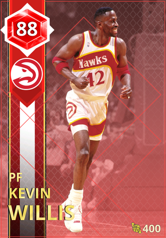 '91 Kevin Willis ruby card