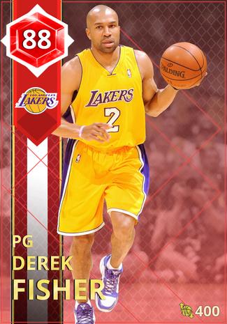 '03 Derek Fisher ruby card