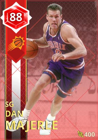 '94 Dan Majerle ruby card