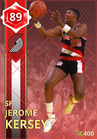 '91 Jerome Kersey ruby card