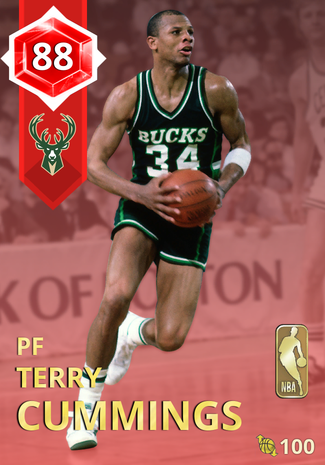 '90 Terry Cummings ruby card