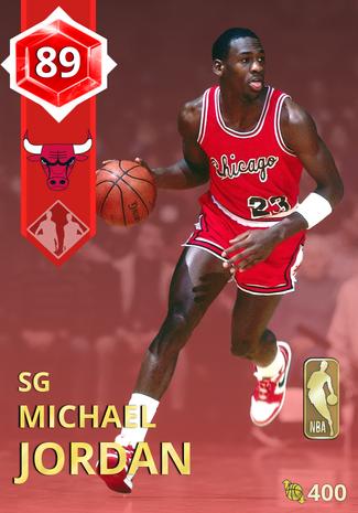 '92 Michael Jordan ruby card