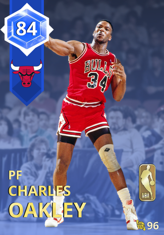 '92 Charles Oakley sapphire card