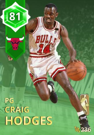 '89 Craig Hodges emerald card