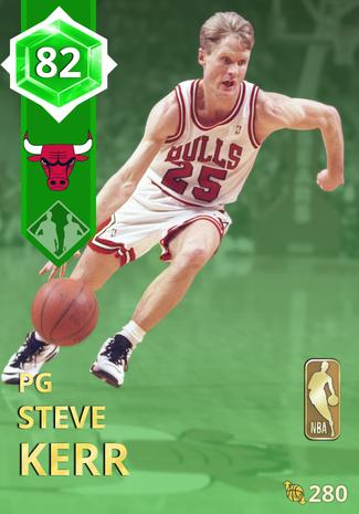 '94 Steve Kerr emerald card