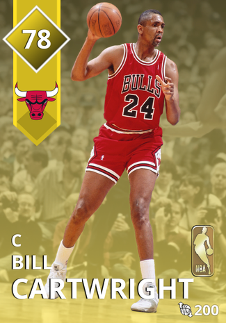 '86 Bill Cartwright gold card