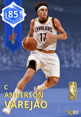 '11 Anderson Varejao sapphire card