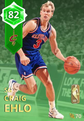 '90 Craig Ehlo emerald card
