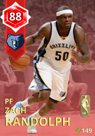 '10 Zach Randolph ruby card