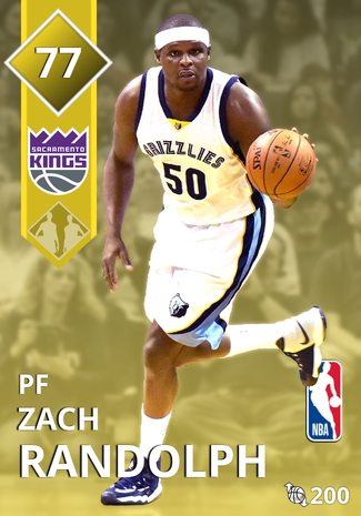 Zach Randolph gold card