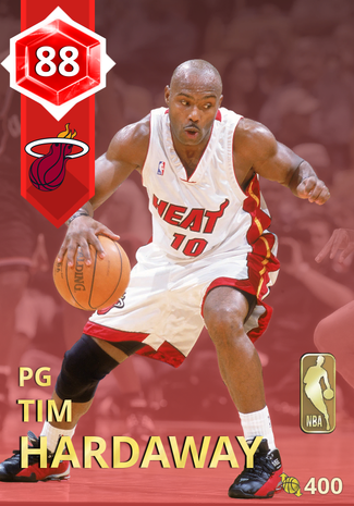 '95 Tim Hardaway ruby card