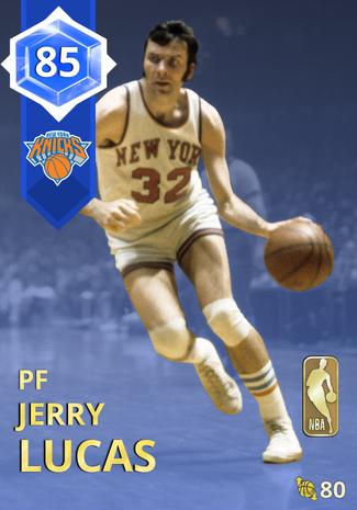 '69 Jerry Lucas sapphire card