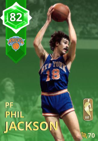 '74 Phil Jackson emerald card
