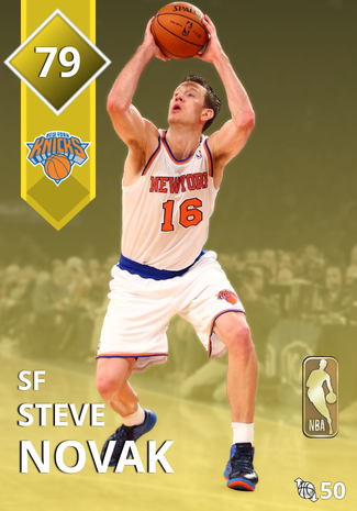 '12 Steve Novak gold card