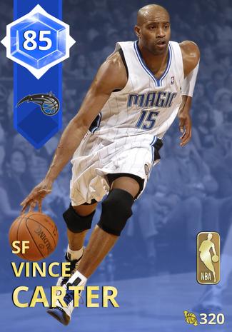 '06 Vince Carter sapphire card