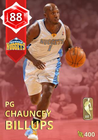 '05 Chauncey Billups ruby card