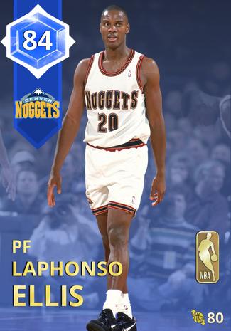 '98 Laphonso Ellis sapphire card
